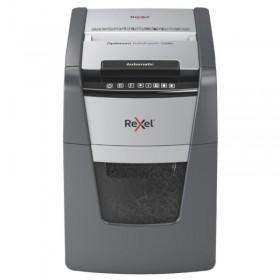 Niszczarka automatyczna REXEL OPTIMUM AUTOFEED+ 100M, P-5, 100 kart., 34l, czarna
