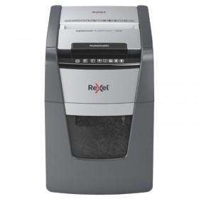 Niszczarka automatyczna REXEL OPTIMUM AUTOFEED+ 100X, P-4, 100 kart., 34l, czarna