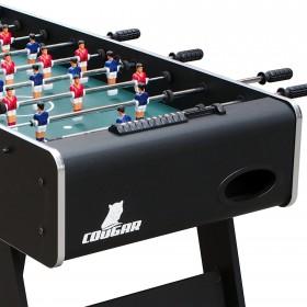 COUGAR Stół piłkarski Piłkarzyki Jump Shot + 4 piłki