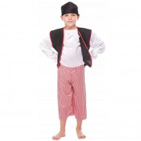 WOOPIE Strój Pirata dla dziecka na 122 cm