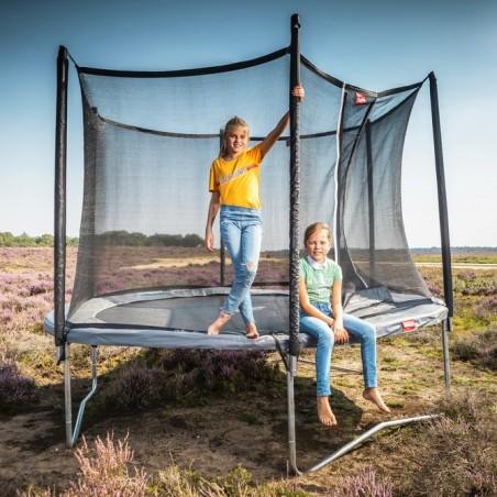 Trampolina BERG Favorit Gray 270 cm + Siatka Comfort